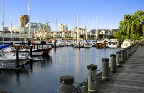 Coast Harbourside Victoria - La promenade de la Marina