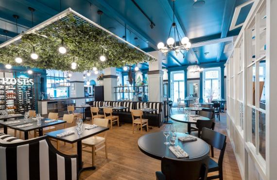 Brasserie Les Mordus - Salle à manger