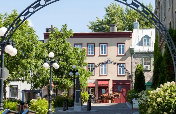Hôtel Jardin Ste-Anne - Québec, QC