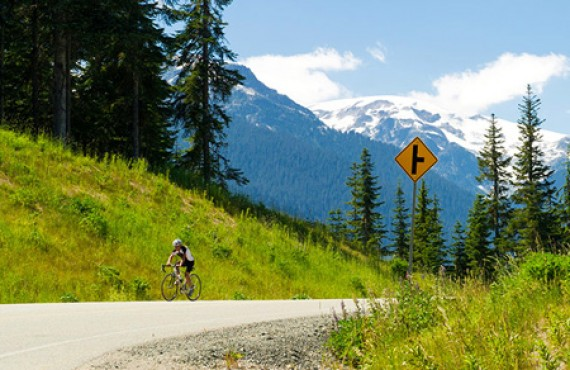 Hôtel Mountain Side - Promenade à vélo