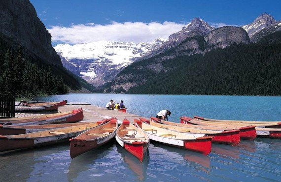 Mountaineer Lodge - Location de canot, Lake Louise