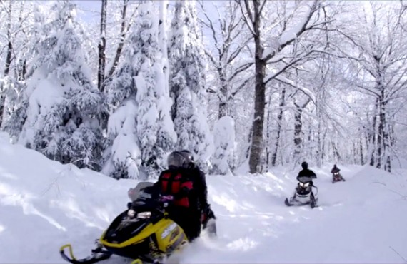 Pourvoirie Rabaska - Sentier de motoneige