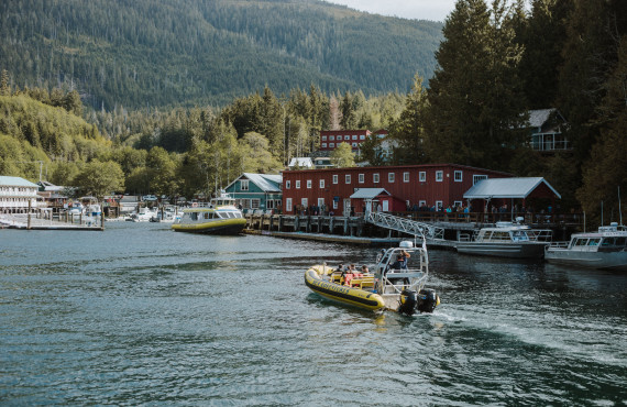 Port de Telegraph Cove