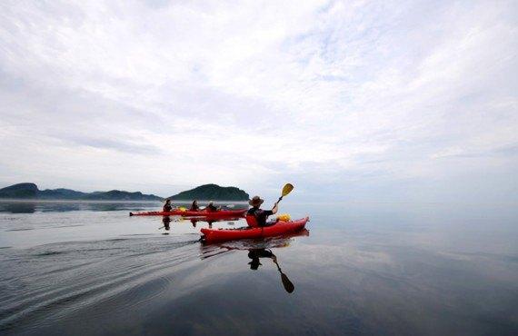 Auberge des Îles du Bic - Kayak