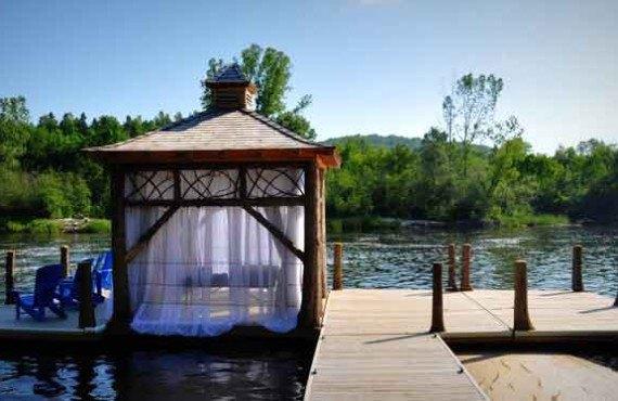 Auberge Le Baluchon - Massage sur l'eau
