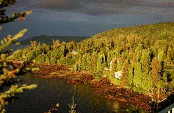 Auberge de la Rivière Saguenay - Vue aérienne