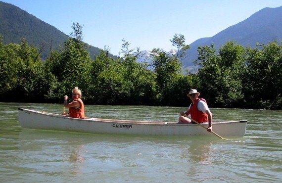 Chalet de la Maison du Glacier - Balade en canot