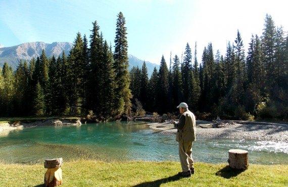 Chalet du Ranch Beaverfoot - Pêche sur la Rivière Meadow