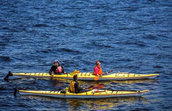 Chalets sur le Fjord - Kayak