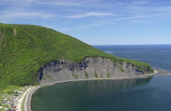 Chalets Vermont - Vue du Mont Saint-Pierre, QC