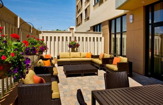 Courtyard Marriott - Terrasse