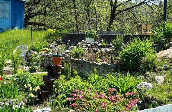 Gîte Fleury - Jardin