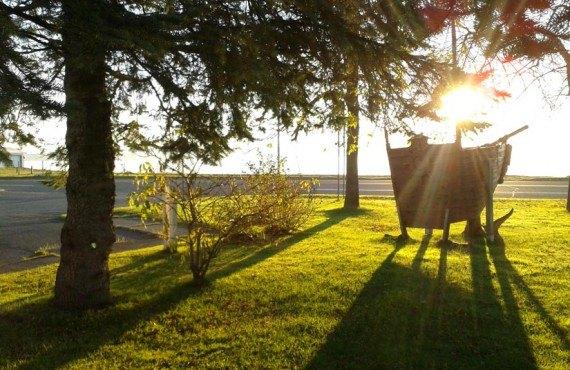 Gîte le Martin Pêcheur - Coucher de soleil