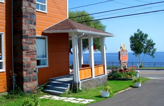 Maison Robertson - Vue sur le Lac St-Jean
