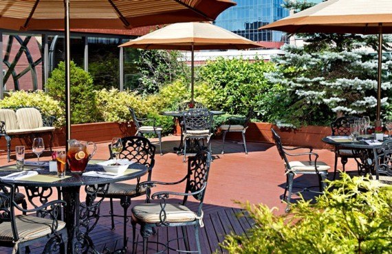 The Prince George Hotel - Terrasse