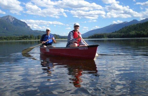 Vagabond Lodge - Balade en canot
