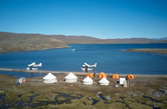 """Camp located in the """"Vallée du Desert de Moraine"""""""