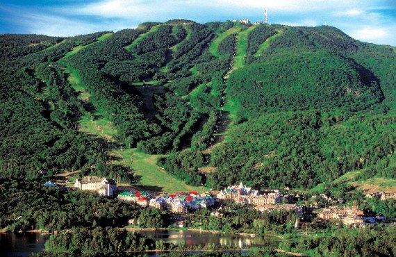 Fairmont Tremblant - Vue du Mont Tremblant