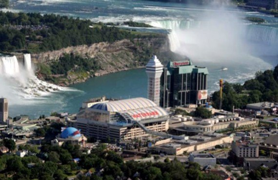 Sheraton on the Falls - vue des Chutes