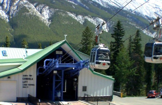 Banff Cable Car