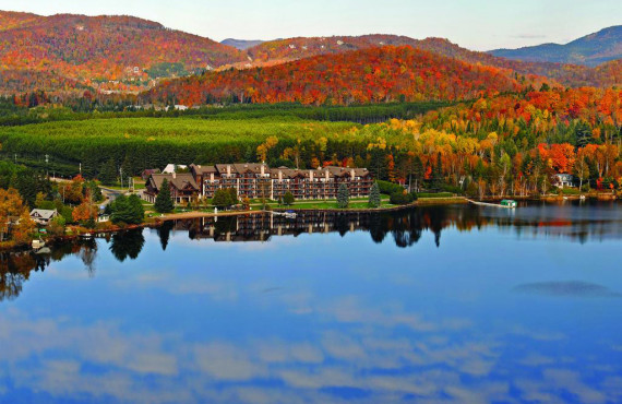 Le Grand Lodge in autumn