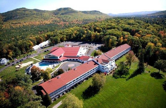 Mountain View Resort - Vue aérienne