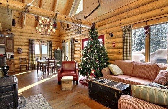 Cabane au Canada - salle de repos