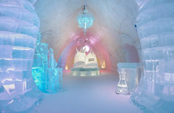 Sculptures de glace ou de neige