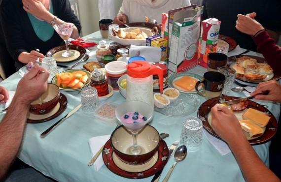 Gîte Pétales de Rose - petit déjeuner