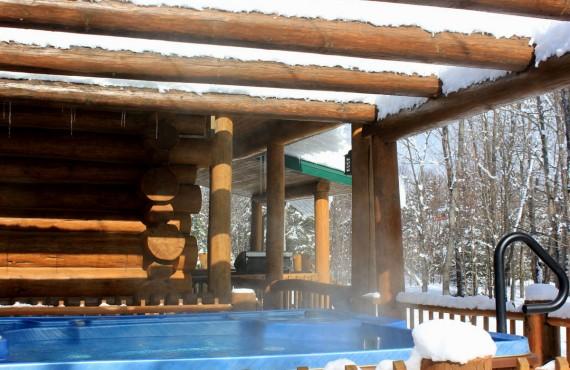Cabane au Canada - Chaud et froid