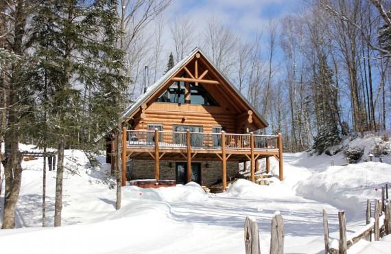Cabane au Canada - site enchanteur