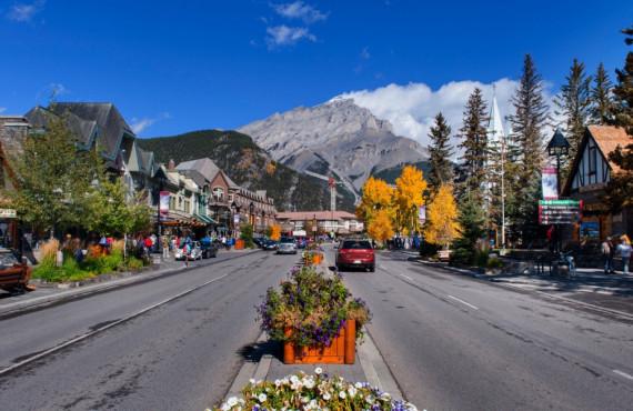 Main Street de Banff