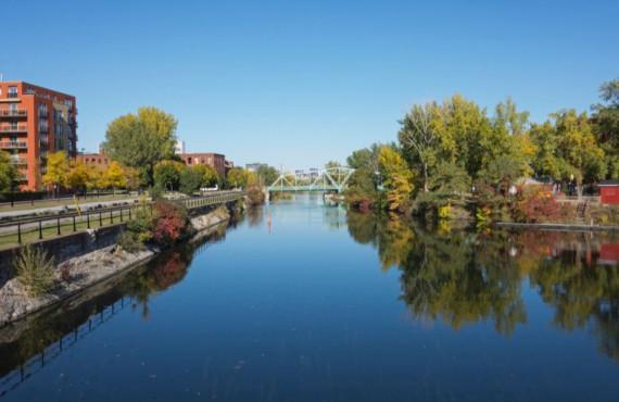 Canal Lachine en automne