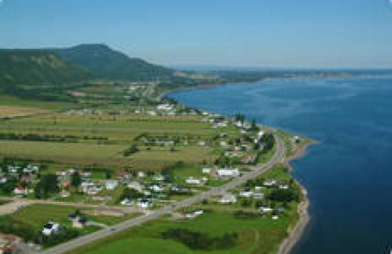 Ville de Carleton dans la Baie des Chaleurs