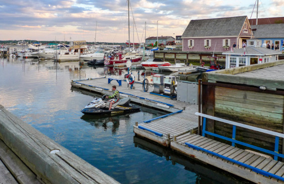 Charlottetown harbour, Prince Edward Island