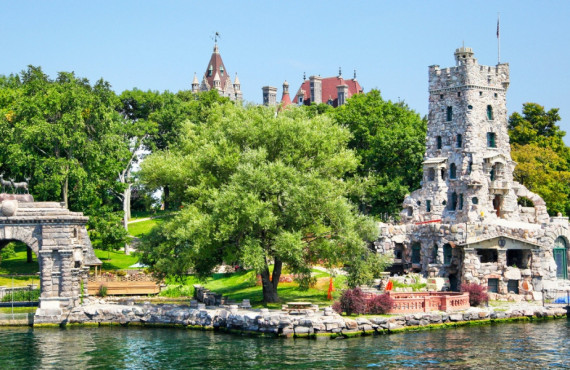 Château de Boldt en Ontario