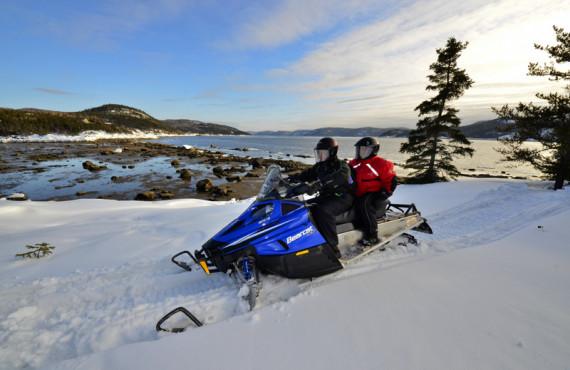 Motoneige au Fjord du Saguenay