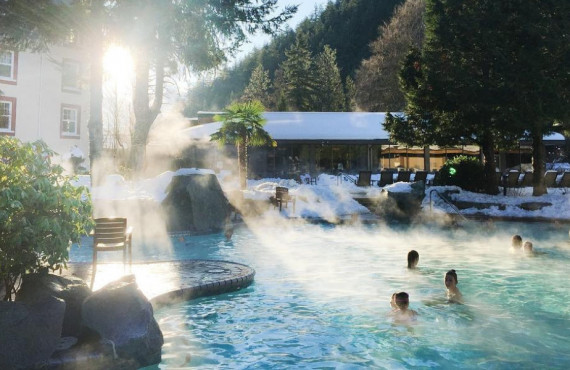 Sources thermales de Harrison Hot Springs
