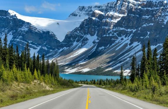 Lac Bow Alberta Canada