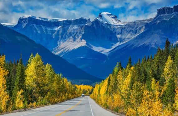 Promenades des Glaciers au Canada
