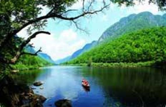Canot dans le Parc National de la Jacques-Cartier