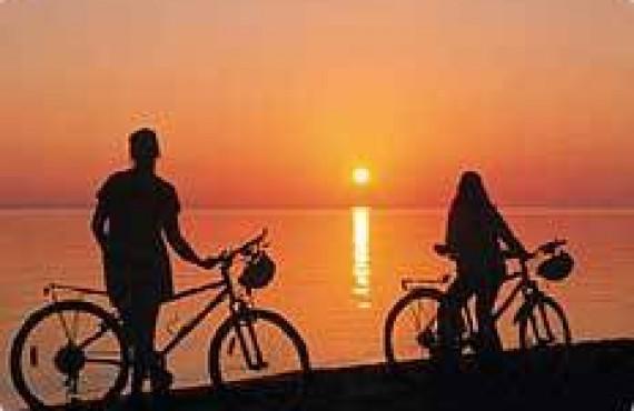 Ballade en vélo au Lac St-Jean