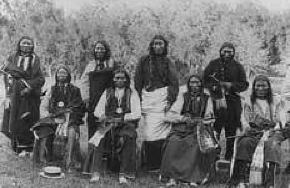 Famille Amérindienne