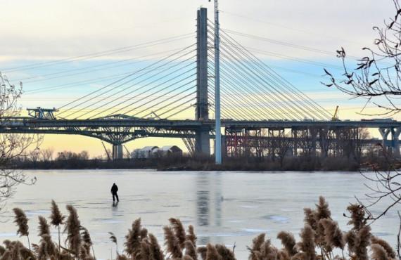 Nouveau pont Samuel-De Champlain à Montréal