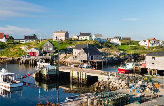 Peggy's Cove fishing village, Nova Scotia