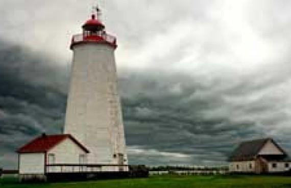 Phare de l'Île Miscou, Péninsule Acadienne
