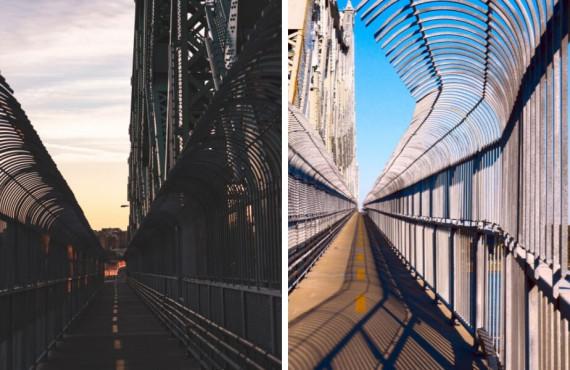 Faire du vélo sur le pont Jacques-Cartier