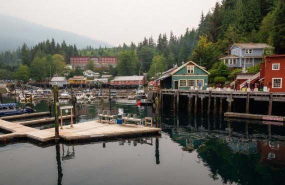 Telegraph Cove sur l'île de Vancouver