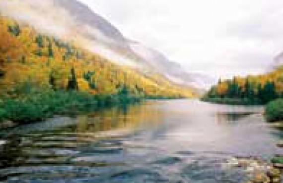 Vallée de la rivière Jacques-Cartier, Canada