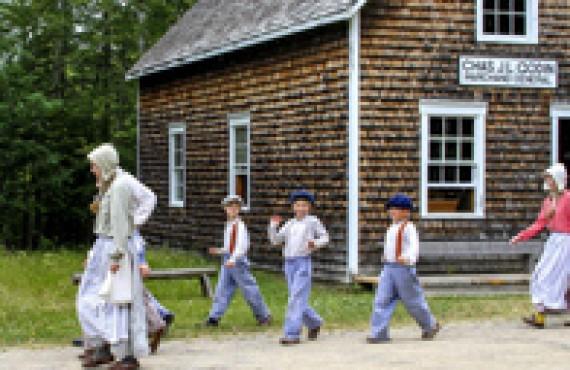 Village historique Acadien, Nouveau-Brunswick